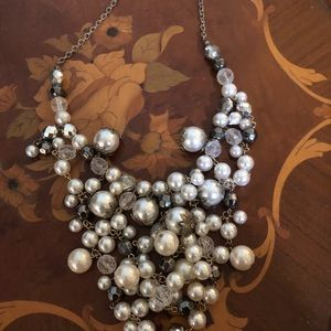 Jewelry - Massive masses of various colored pearls necklace